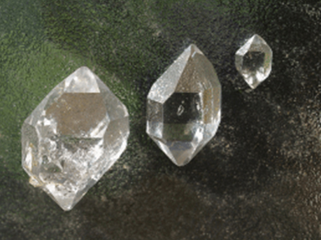 What can I work out with the hardness of diamond?